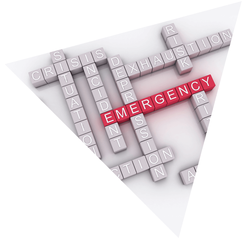 Emergency Response - Crossword puzzle background